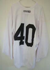 PHOENIX COYOTES Mike Ricci worn white CCM #40 practice jersey (2005-06 season)