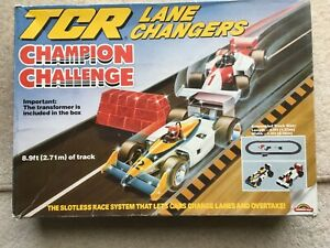 Vintage TCR Total Control Racing - Champion Challenge set with Extra Track