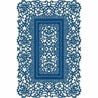 Tattered Lace ORNAMENTAL ANTIQUE LACE RECTANGLE Die - TLD0283 - FREE UK P&P