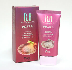 [Ekel] Pearl BB Cream 50ml /Whitening, Anti-wrinkle, Sun protection SPF50+ PA+++