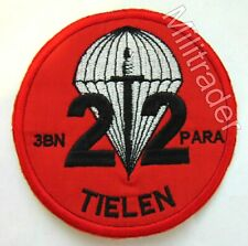 Belgium Belgian Army 3rd Parachute Battalion 22 Company Patch (Sew-on)