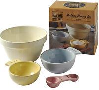 Mason Cash Child Friendly Pudding Making Baking Set for Children