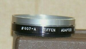Tiffen Series 6, # 607A, 44 X 0.75 Screw-On Lens Adapter with Retaining Ring