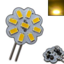 G4 LED 2 Watt 12V AC/DC dimmbar warmweiß 120° rund Leuchtmittel Lampe klein