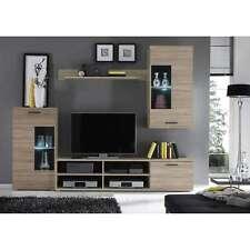 PARETE ATTREZZATA MOBILE TV Parete da soggiorno con illuminazione LED compresa