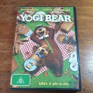 Yogi Bear DVD R4 LIKE NEW FREE POST