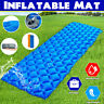 Waterproof Wave Shape Breathable Outdoor Camp Sleeping Pad Tent Inflatable Mat