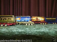 4 Tank Trucks / Tucher Truck 1:50 / Weihnachtstrucks Nr. 2, 3, 4,5 / Sammler