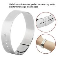 Bracelet Sizer Steel Wristband Measuring Tool Bangle Jewelry Making Gauge Hand
