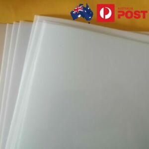 Mylar Stencil Film Sheet 190 micron / 7 mil Blank A4 Size in 2, 6 or 12 pack