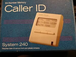 Radio Shack 64-Number Memory Caller ID 43-962 System 240 Brand New