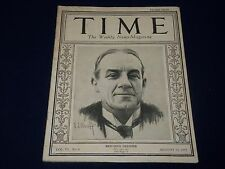 1925 AUGUST 10 TIME MAGAZINE - BRITAIN'S STANLEY BALDWIN COVER - T 46
