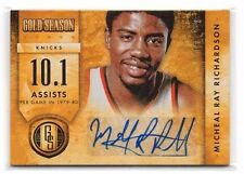 Micheal Ray Richardson 2013-14 Gold Standard, Gold Season Autographs, /299 !!