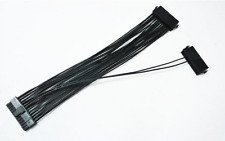 24 Pin(20+4Pin) Dual Sync. Start ATX PSU Power Supply Cable 18AWG for BTC Mining