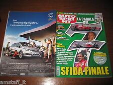 AUTOSPRINT 2008/44=SFIDA FINALE MASSA/HAMILTON=TEST FERRARI CALIFORNIA=