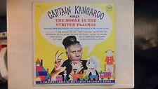 CAPTAIN KANGAROO Sings The Horse in the Striped Pajamas LP 60s