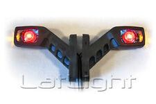 LED Umrissleuchten Trailer Positionsleuchte LKW Seitenmarkierungsleuchte 12V 24V