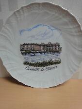 assiette le chateau de Luneville  porcelaine France