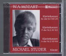 MOZART CD NEW CONCERTOS FOR PIANO 9.11.12  MICHAEL STUDER