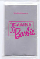 VINTAGE BARBIE 35TH ANNIVERSARY FASHION BOOKLET REPRO CLOTHES CATALOGUE MATTEL