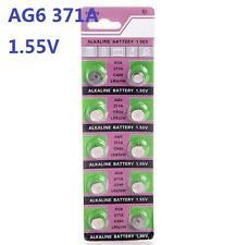 10pcs Batteries AG6 L921 LR69 371A SR69 Coin Button Cell Battery Watch camera