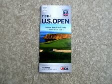 2019 US OPEN CHAMPIONSHIP - PEBBLE BEACH - SUNDAY - TEE-TIME BROCHURE