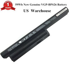 Genuine BPS26 VGP-BPS26A VGP-BPL26 Battery for SONY VAIO CA CB Series Laptop OEM