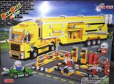 BanBao 8761 Racer Maintenance Truck Building Block Set 660pcs