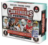 2020 Panini Contenders Football FOTL Hobby Sealed Box First Off the Line *NEW*