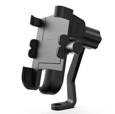 Motorcycle Phone Holder With 2A LED USB Quick Charger Mirror Bracket for Stand