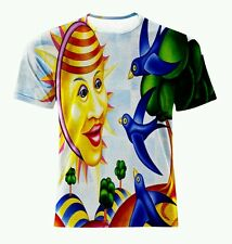 NEW CUBISM SURREALISM PABLO PICASSO ALLOVER PRINT MODERN AGE T-SHIRT! ALL SIZES