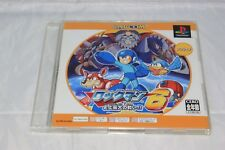 Rockman/Megaman 6 Japan Import PS1 North American Seller Game and Manual Only