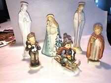 Lot Hummel Goebel Figurines Madonna Holy Child Hello Phone Sled Boy Free Ship