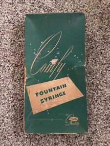 Vintage Davol Fountain Syringe  No. 11