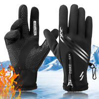 Men Women Winter Warm Gloves Windproof Waterproof Touch Screen Skiing Motorcycle