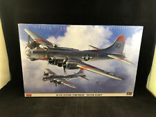 Hasegawa B-17G Flying Fortress Silver Fleet 1:72 Scale Plastic Model Kit 01961