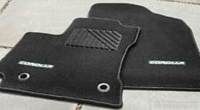 2014 - 2015 Corolla Carpet Floor Mats (Black w/ Silver Tread) PT206-02142-21