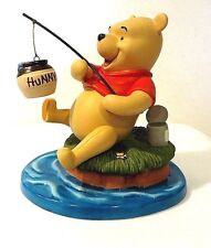 "DISNEY - POOH AND FRIENDS  ""HIP HIP HOORAY, THE CATCH OF THE DAY"" FIGURINE"