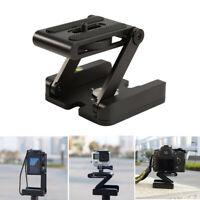 Z Pan Folding Camera Flex Tripod Tilt Stand Mount Holder Head Studio Bracke New