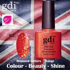 UK SELLER Gdi Nails Diamond Glitters K02 UV/LED Gel Soak Off nail polish