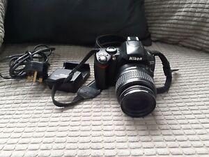 Nikon D40x 10Mp DSLR Digital CAMERA & AF-S Nikkor 18-55mm DX LENS VG Condition