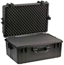 Large Waterproof Hard Case with Foam Travel Luggage Safe Storage Transport Box