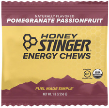 Honey Stinger Organic Energy Chews, Pomegranate Passionfruit 24 Count FREE SHIP