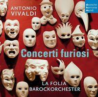 LA FOLIA BAROCKORCHESTER - CONCERTI FURIOSI  CD NEW+ VIVALDI,ANTONIO