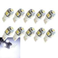 T10 10x White 5 SMD High Power LED Bulb #Nt76 Center High Mount Stop Brake Light