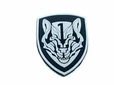 Medal Of Honor MOH Wolfpack Black PVC Biker Airsoft Patch