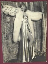 Lucille Ball, Famed Actress, Vintage signed photo, COA, UACC RD 036
