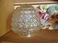 Small. clear glass ceiling light shade