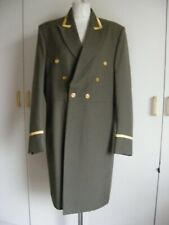 Vintage livery coat olive green & gold frock coat Steampunk Theatre Costume 42""