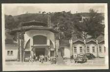R Photo Brazil Postcard Termas De Lindoia & Old Automobiles